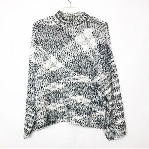 Andrew Marc chunky fuzzy oversized Sweater